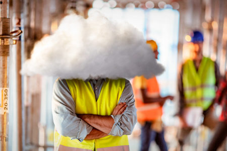 head in the cloud - idioms